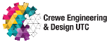 Service logo for Crewe Engineering & Design University Technical College (UTC)