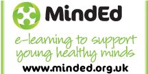 MindEd for Professionals & Volunteers Logo